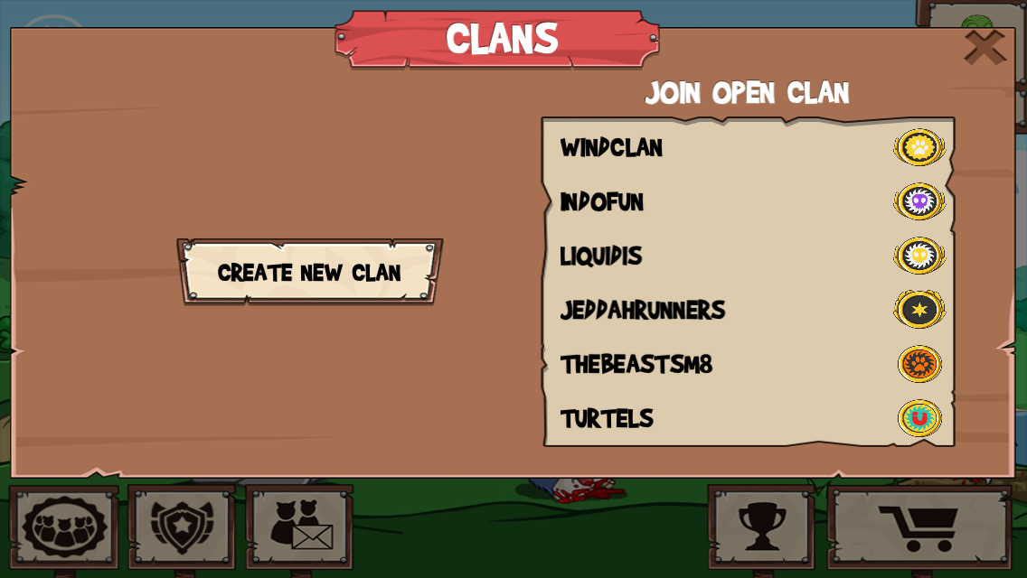 Open Invite Only Clans Dirtybit